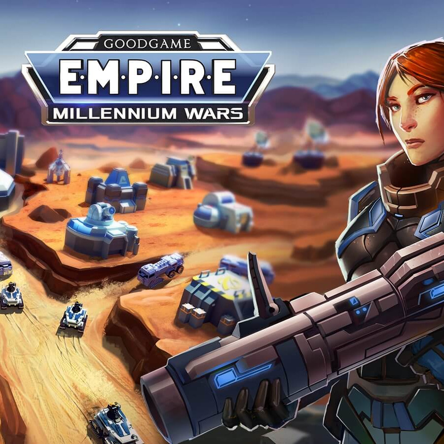 Empire Millennium Wars Game Poster