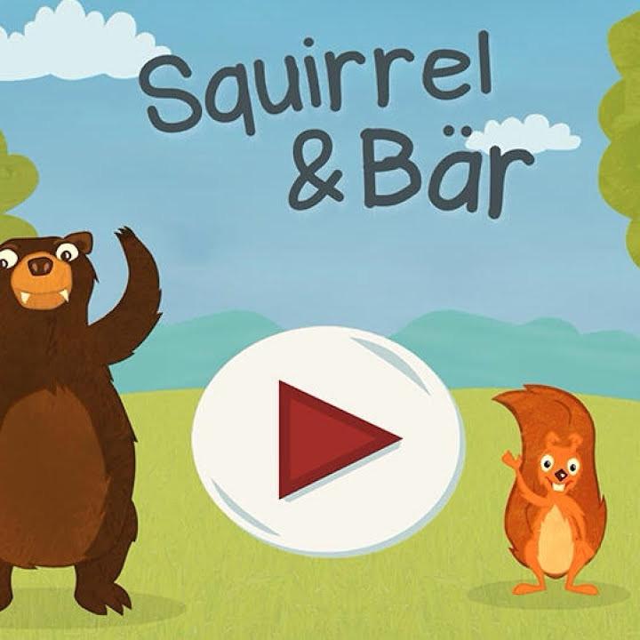 Squirrel & Bär Game Poster