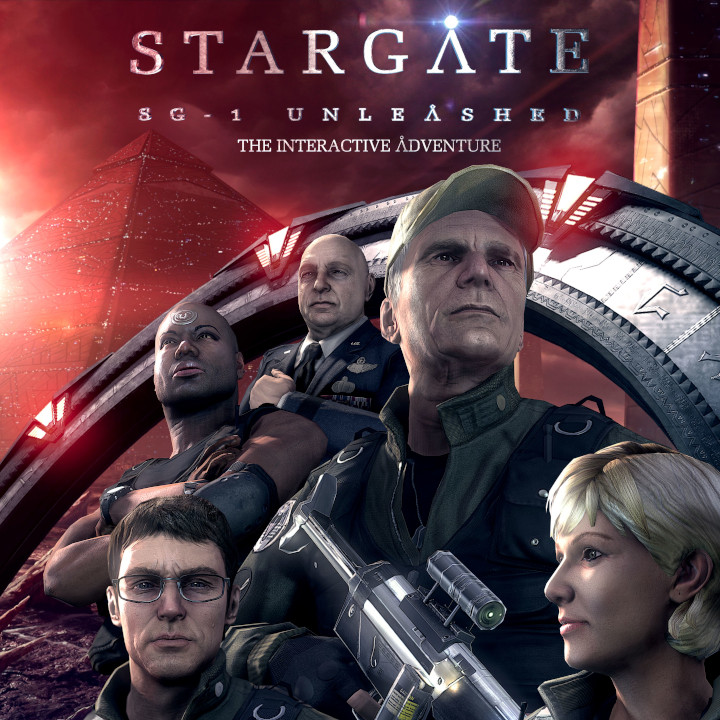 Stargate SG-1 Unleashed Game Poster